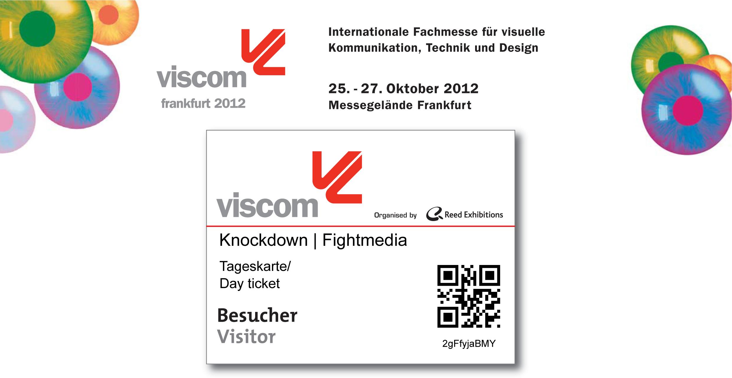 Fightmedia auf der Viscom 2012 in Frankfurt