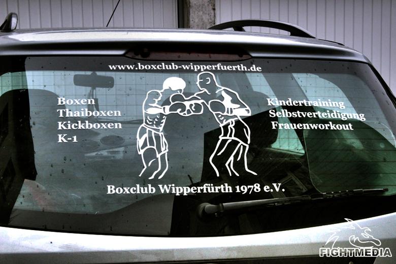 KFZ-Beschriftung Heckfenster by Fightmedia